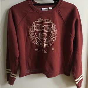 Forever 21 Harvard Pajama Fleece shirt